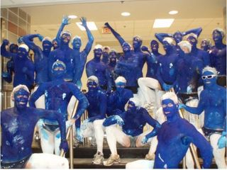 Navy_mens_swim_team_smurfs